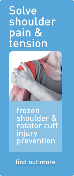 Solve shoulder pain & tension